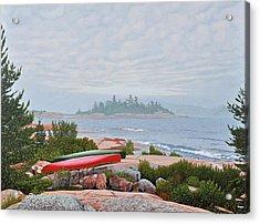 Le Hayes Island Acrylic Print by Kenneth M Kirsch