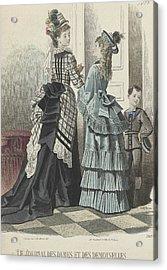 Le Journal Des Dames Et Des Demoiselles Acrylic Print by A Bodin