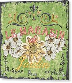Le Magasin De Jardin Acrylic Print by Debbie DeWitt