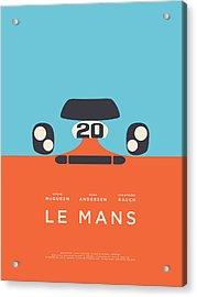 Le Mans Movie - B Acrylic Print by Ivan Krpan