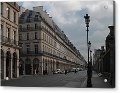 Acrylic Print featuring the photograph Le Meurice Hotel, Paris by Christopher Kirby