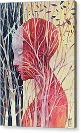 Le Mie Radici Acrylic Print by Alessandro Andreuccetti