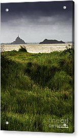 Le Mont Saint-michel Et Tombelaine Acrylic Print