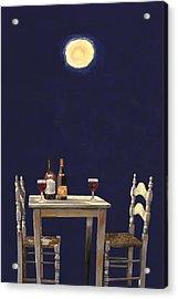Le Ombre Della Luna Acrylic Print