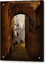 Le Passage Acrylic Print