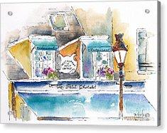 Le Petit Chatelet Paris Acrylic Print
