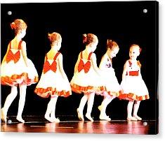 Le Petite Ballet Acrylic Print by Margie Avellino