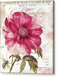 Le Pink  Acrylic Print