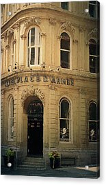 Le Place D' Armes Hotel  Acrylic Print by Maria Angelica Maira