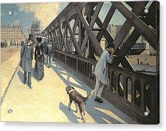 Le Pont De L'europe Acrylic Print