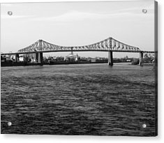 Le Pont Jacques Cartier Acrylic Print by Robert Knight