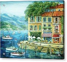 Le Port Acrylic Print by Marilyn Dunlap