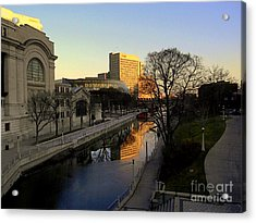 Acrylic Print featuring the photograph Le Rideau, by Elfriede Fulda