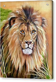Le Roi-the King, Tribute To Cecil The Lion   Acrylic Print