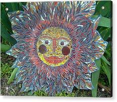 Le Soleil Acrylic Print by Kimberly Barrow