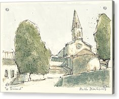 le Thoronet Acrylic Print by Martin Stankewitz