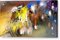 Le Tour De France 05 Acrylic Print by Miki De Goodaboom