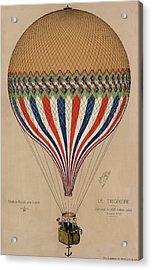 Le Tricolore Acrylic Print