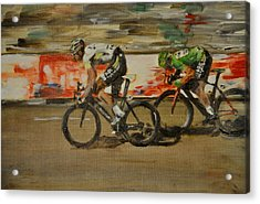 Le Vert Vite Acrylic Print by Lawrence Walton