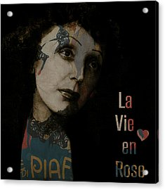 Le Vie En Rose  Acrylic Print by Paul Lovering