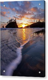 Acrylic Print featuring the photograph Lead The Way by Mike Lang