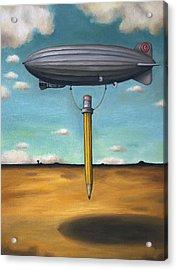 Lead Zeppelin Acrylic Print