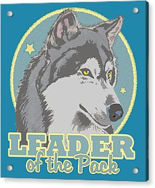 Leader Of The Pack Acrylic Print