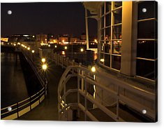 Leading Lights Acrylic Print by Hazy Apple