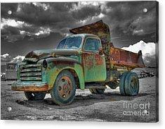 Leadville Coal Company Acrylic Print