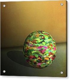 Leaf Ball -  Acrylic Print