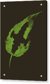 Leaf On The Wind Acrylic Print