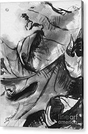 Leaf Study Variation 6 Acrylic Print by Jamey Balester