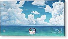 Leaky Little Boat Acrylic Print