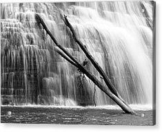 Leaning Falls Acrylic Print