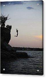 Leap For Joy Acrylic Print by Emily Olson
