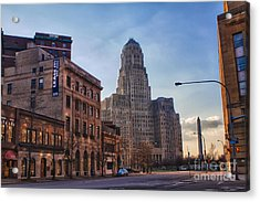 Lease It Acrylic Print by Chuck Alaimo