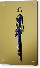 Leash Lady Just Hanging On The Wall Acrylic Print