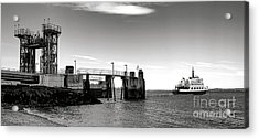 Leaving Lincolnville Acrylic Print