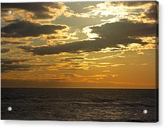 Leaving New Jersey Acrylic Print by Kevin  Sherf