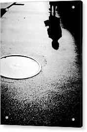 Leaving Acrylic Print by Steven Huszar