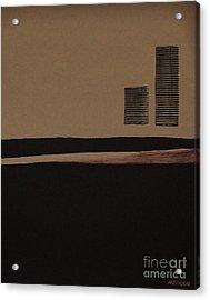 Leaving The City Acrylic Print by Marsha Heiken