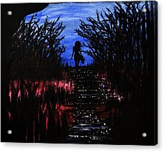 Leaving The Wilds Acrylic Print