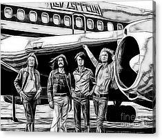 Led Zeppelin Collection. Acrylic Print by Marvin Blaine