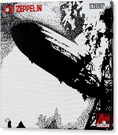 Led Zeppelin Acrylic Print by Mr Minor