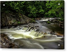 Ledge Falls Acrylic Print by Brent L Ander