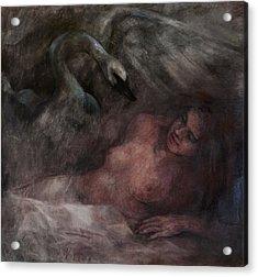 Ledra Acrylic Print by Elisabeth Nussy Denzler von Botha