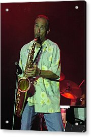Lee Greenwood Acrylic Print by Mike Martin