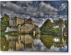 Leeds Castle Reflections Acrylic Print