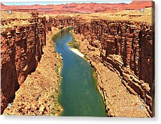 Lees Ferry River Canyon Acrylic Print