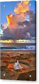 Left Behind - From Singer Island Florida. Acrylic Print